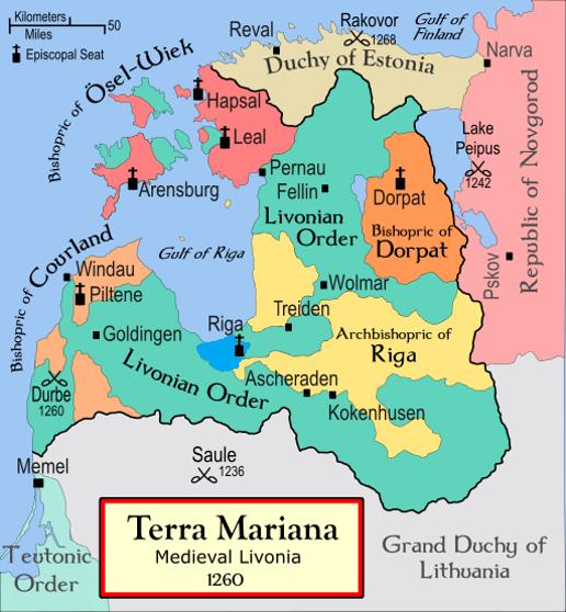 Terra Mariana. Medieval Livonia